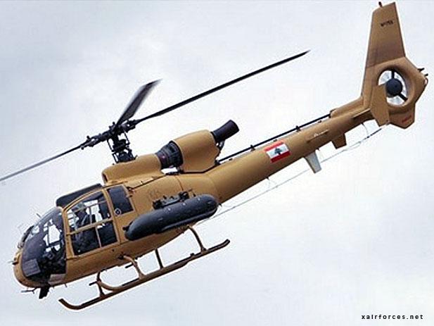 Lebanese SA-342K Gazelle - Lebanese Air Force • Al Quwwat ...