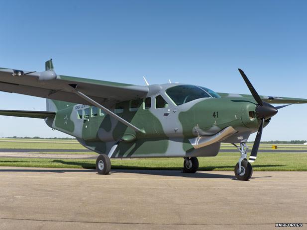 Resultado de imagen para Cessna Caravan al Ejército Argentino.