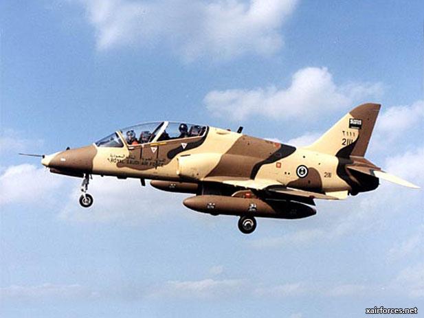 الموسوعه الفوغترافيه لصور القوات الجويه الملكيه السعوديه ( rsaf ) - صفحة 3 RAF_BAe-Hawk-Trainer_070512